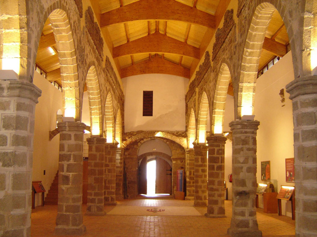 Interior Centro Interpretación