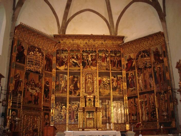 Retablo Iglesia Parroquial del Divino Salvador