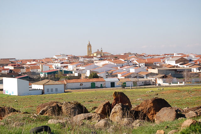 Vista General Medina de las Torres
